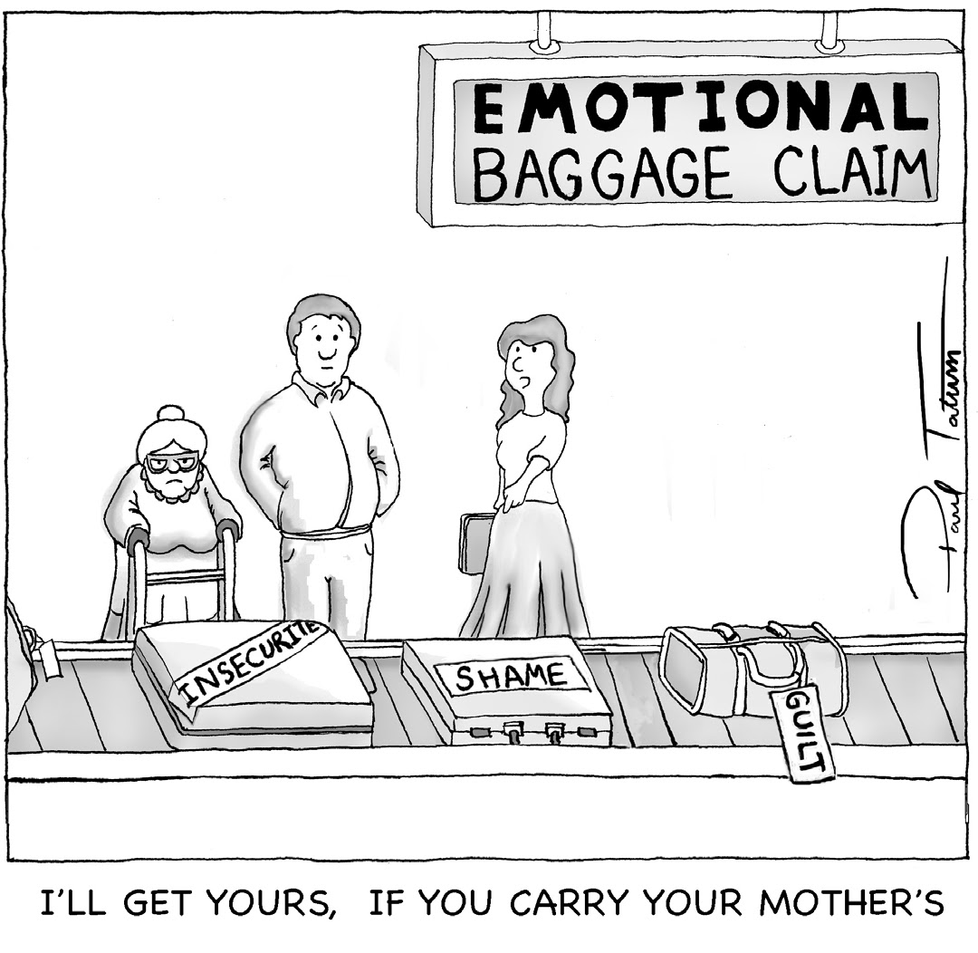 Emotional baggage in relationships