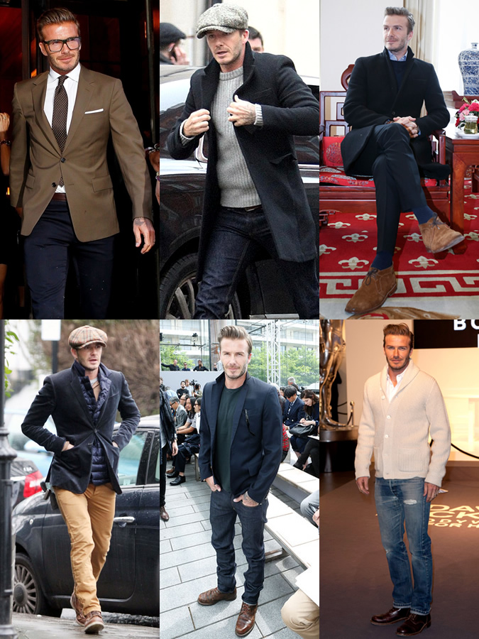 When all else fails you can always look to David Beckam ... or the David Beckham of your day. That man has a good time getting dressed.  fashionbeans.com