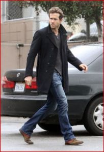 Henley, Pea Coat, Good jeans, cool boots.