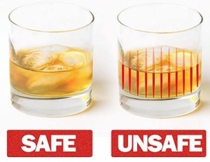Because there shouldn't be a need for glassware from companies like designboom to indicate whether your drink has been drugged or not.