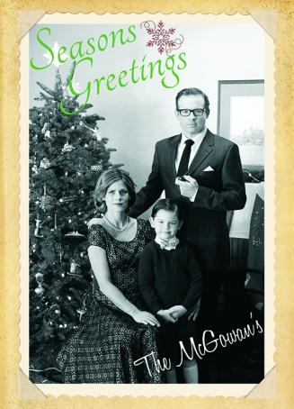 The McGowans circa 1955.